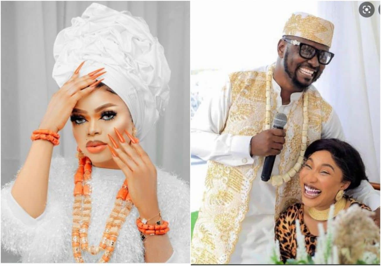 I'm enjoy Aunty disgracing herself every where - Bobrisky drops shade after Tonto Dikeh and Prince Kpokpogri's breakup scandal took another turn