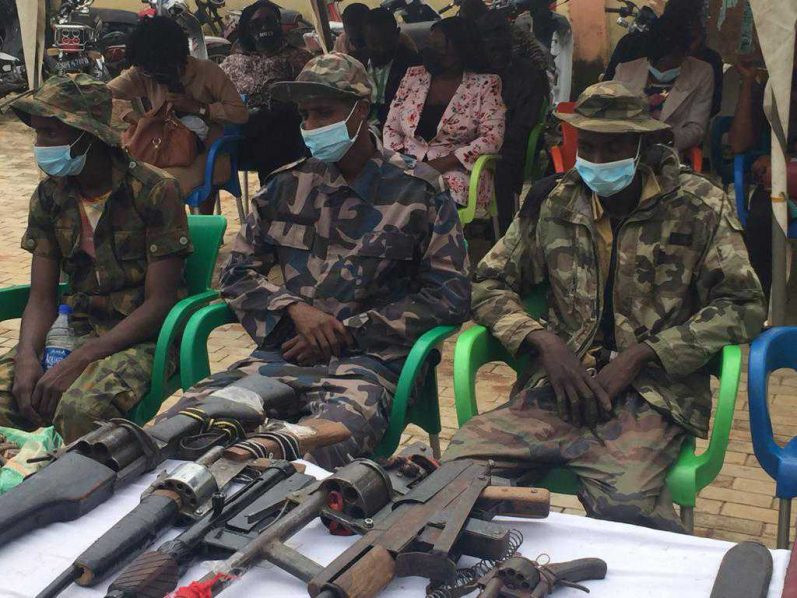 Three kidnappers of Bethel school students nabbed