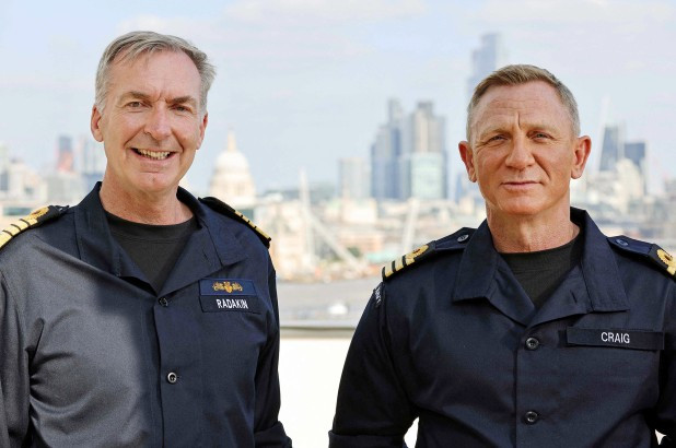 Actor Daniel Craig honored by Royal Navy, made honorary commander to match on-screen rank of 007