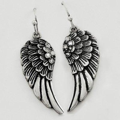 Winged Blessing Earrings