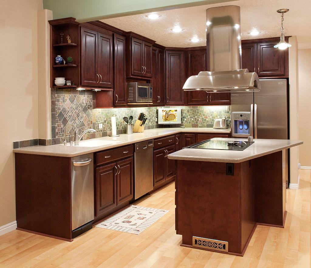 Mahogany Salt Lake City Utah AWA Kitchen Cabinets