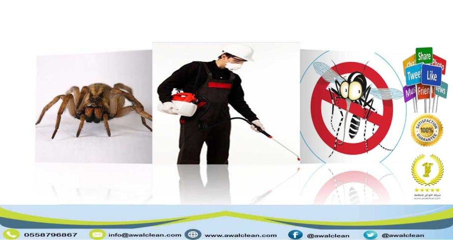 عامل رش مبيد و مكافحة حشرات