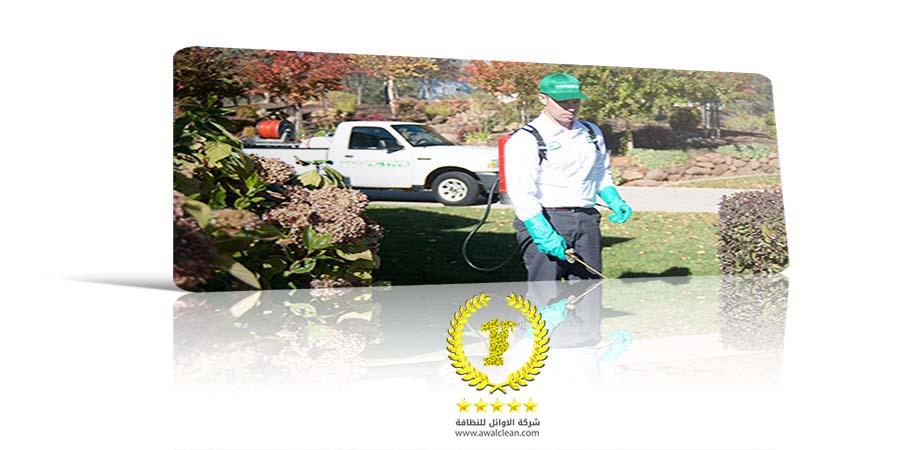فني رش مبيدات
