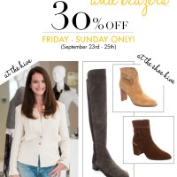 30% Off Boots and Blazers!