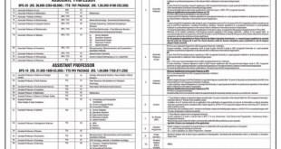 Quaid-I-Azam University Islamabad Jobs