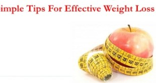 easy & simple way to lose weight