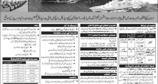 Join Pak Navy As Sailor Batch B-2017