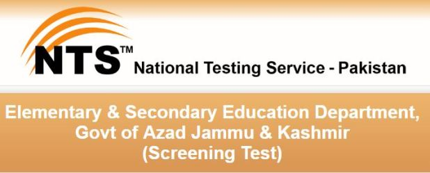 NTS Azad Jammu & Kashmir Teachers Jobs