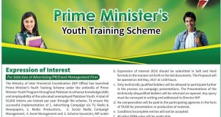 Prime Minister's Youth Training Scheme