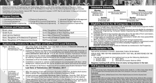 ADMISSION IN DAWOOD UNIVERSITY OF ENGINEERING AND TECHNOLOGY, KARACHI