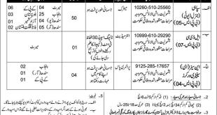 pakistan coast guard vacancy 2018
