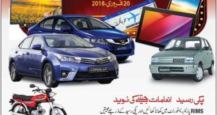 Punjab RIM Lucky Draw 20th February 2018