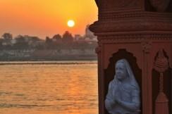 An Indian sunset, 2013.