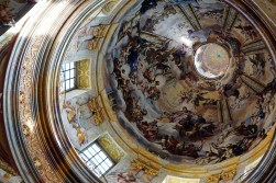 The Dome of Melk Abbey's Church