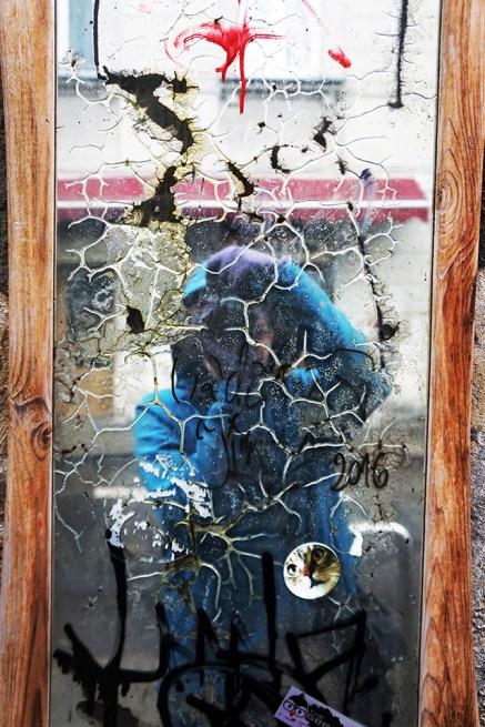 Self Portrait in the Jewish Quarter