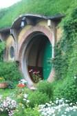 Bilbo Baggins Hobbit hole close up