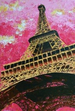Eiffel Tower 24 x 36