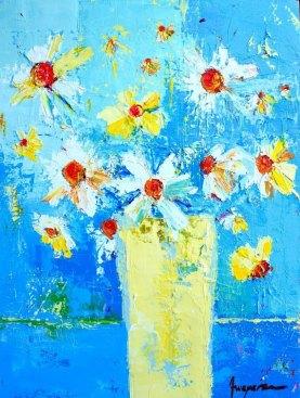 Spring Flowers I 18 x 24