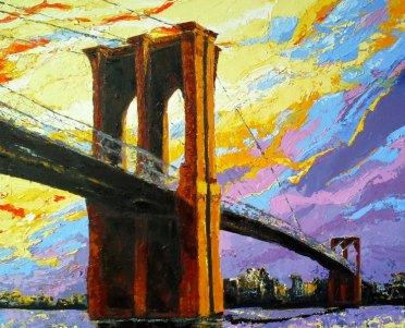 Brooklyn Bridge 24 x 30
