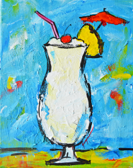 pina colada tropical drinks coctail alcohol beverage