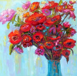 Floral Still Life by Awapara Art