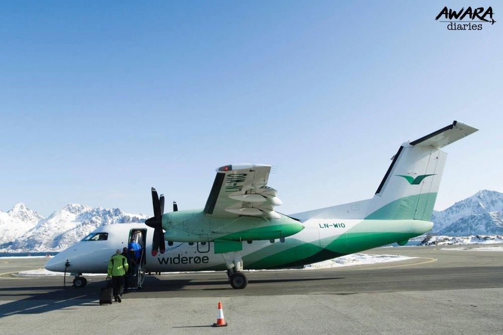 Wideroe: Norwegian Budget Airline With Vintage Feel