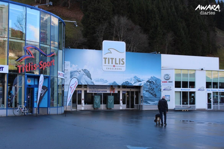Mount Titlis Entrance