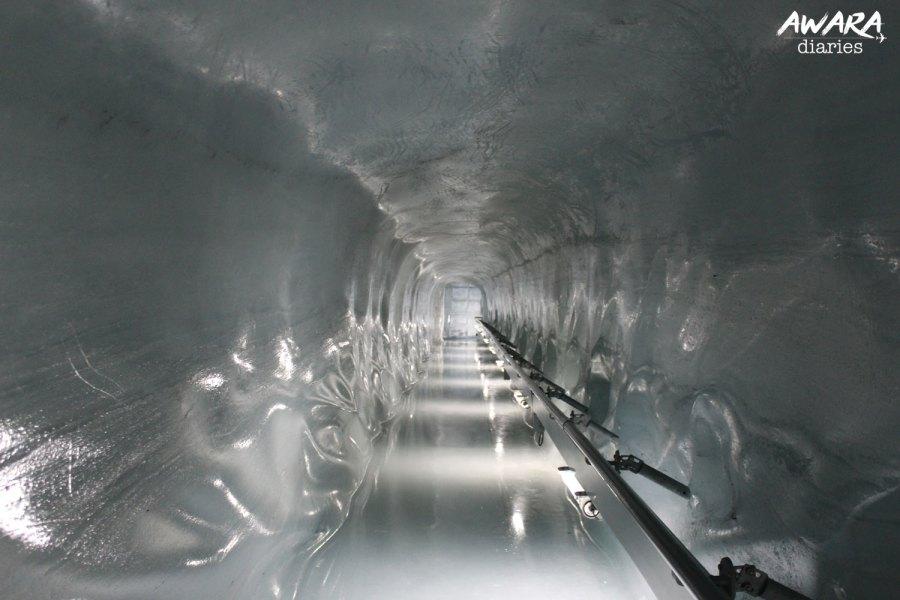 icecave Jungfraujoch