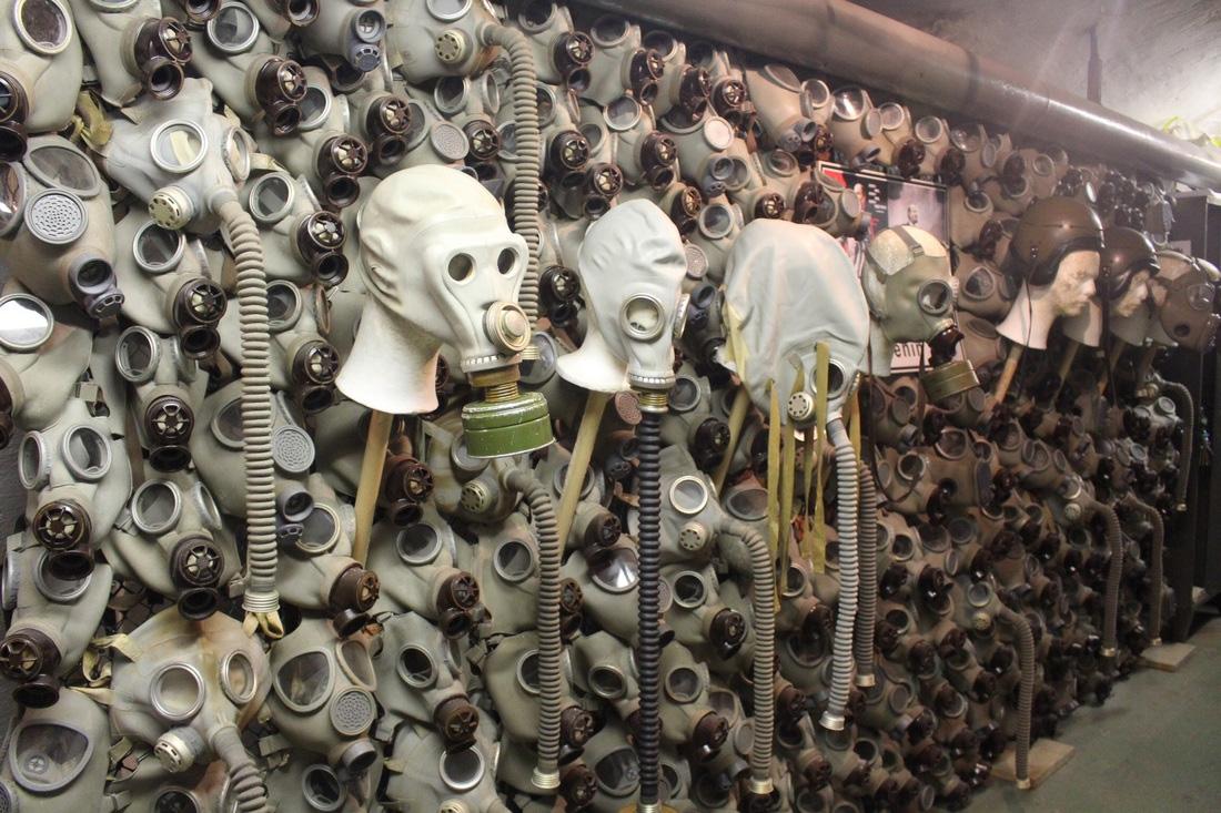 Nuclear Bunker Museum, Prague, Czech Republic