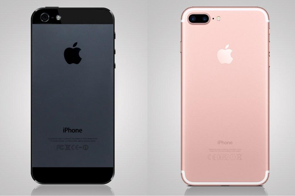 iphone 5 iphone 7 plus