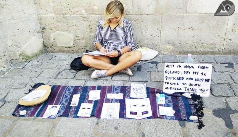 Anna & Her Postcards