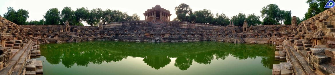 Panorama of Modhera Sun Temple
