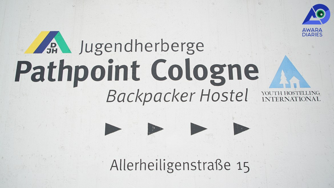 Location of Pathpoint Cologne Backpacker Hostel