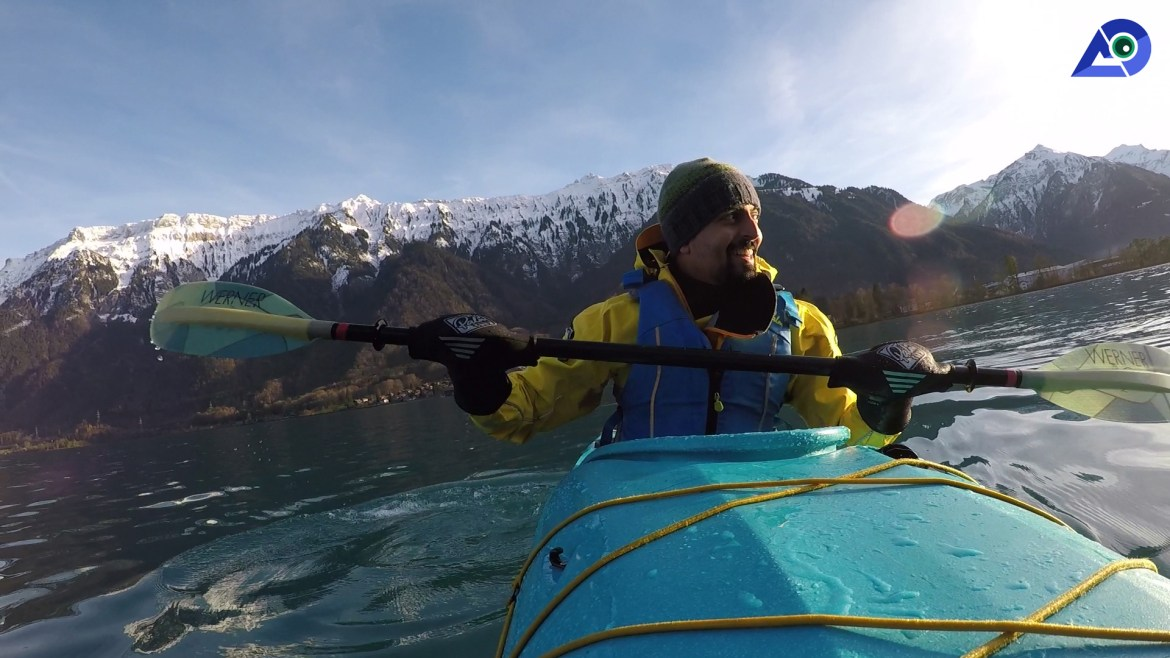 Winter Kayaking 3