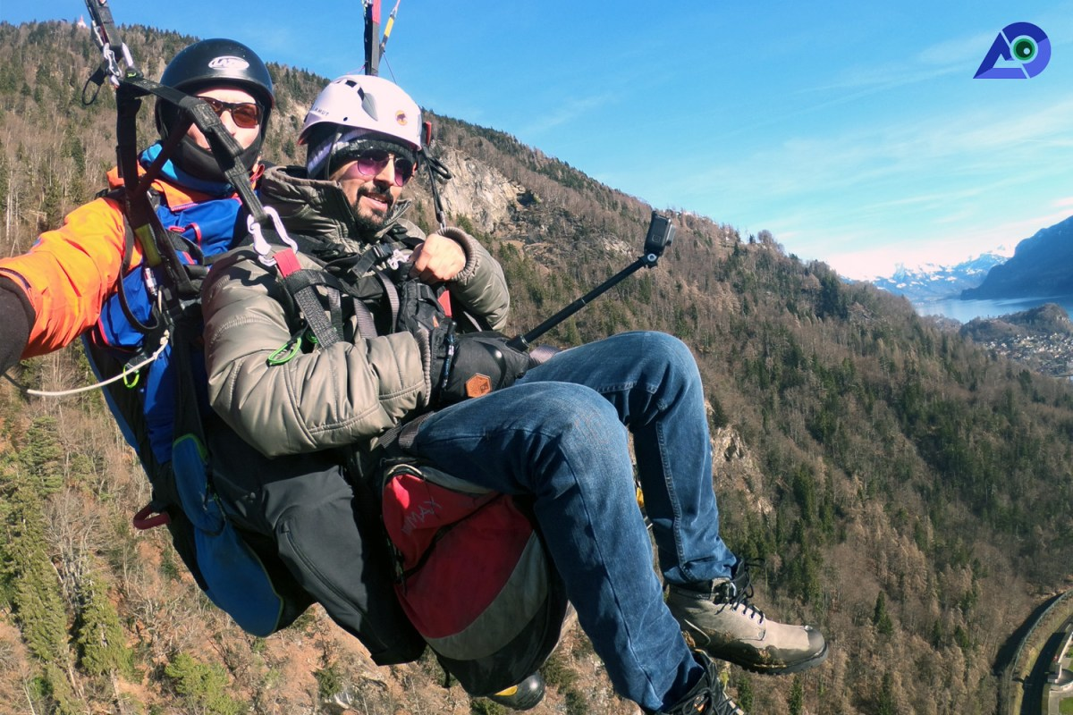 Paragliding in Interlaken 2