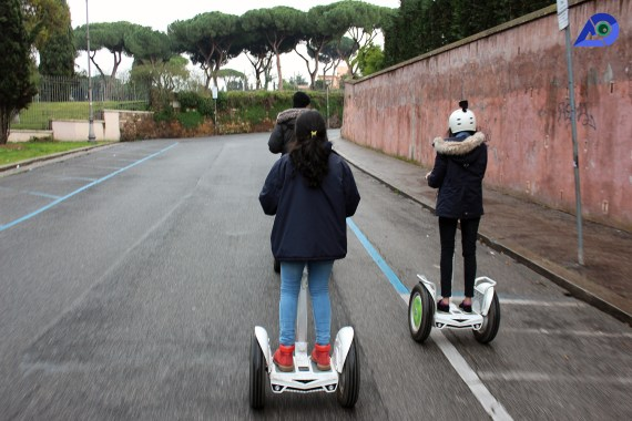 Panoramic Tour Of Rome On A Segway