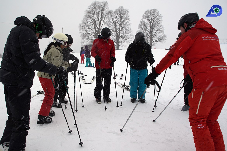 Skiing in Switzerland 1