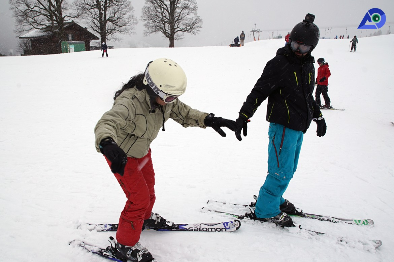 Skiing in Switzerland 2
