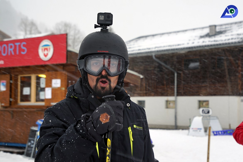 Skiing in Switzerland 4