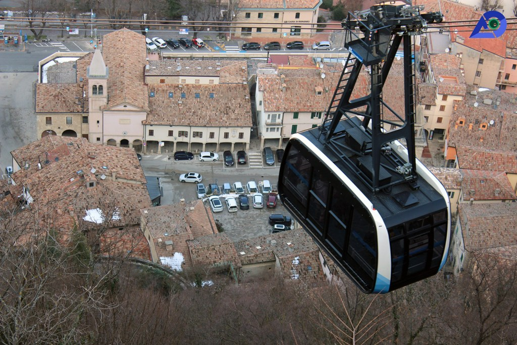 San Marino Cable Car