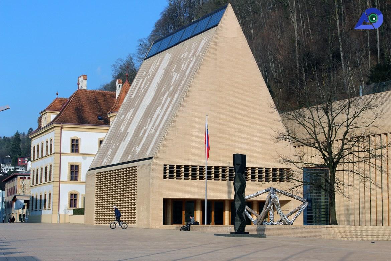 Center of Vaduz, Liechtenstein