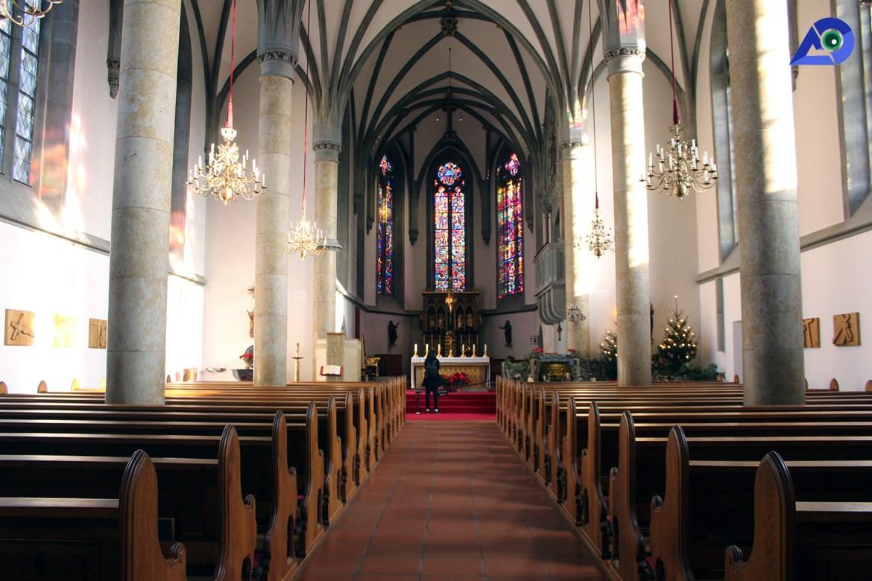 St Florin Cathedral Vaduz Liechtenstein