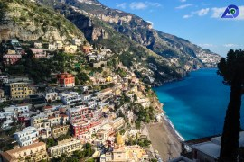15 Beautiful Post Cards From Positano, Italy