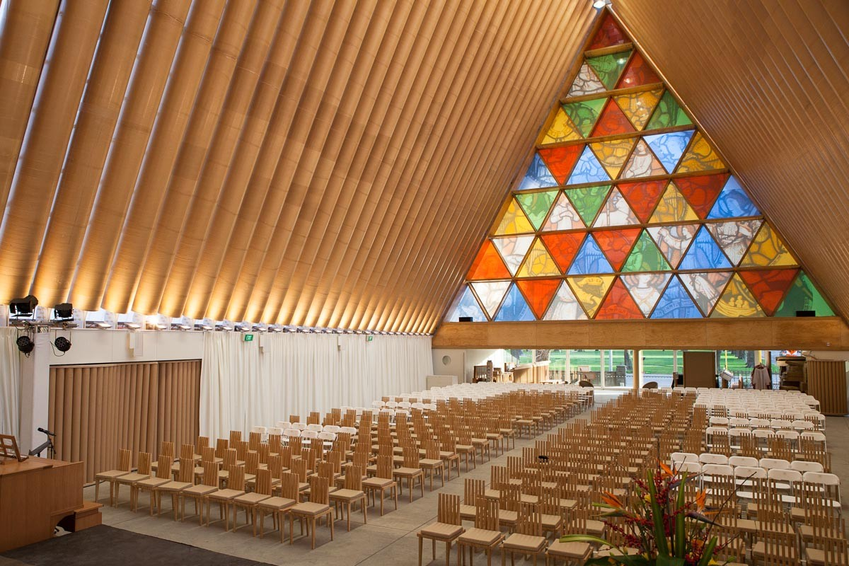 Cardboard Cathedral | Christchurch Attractions