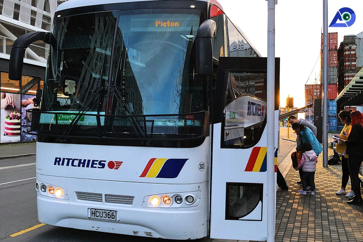 Christchurch to Picton InterCity Bus