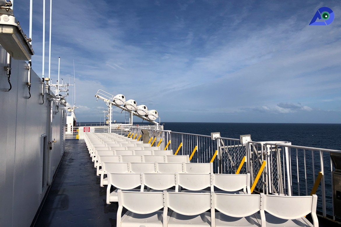 Interislander Viewing Deck