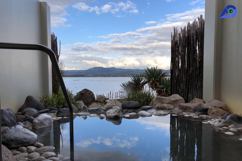 Private Pool at Polynesian Spa