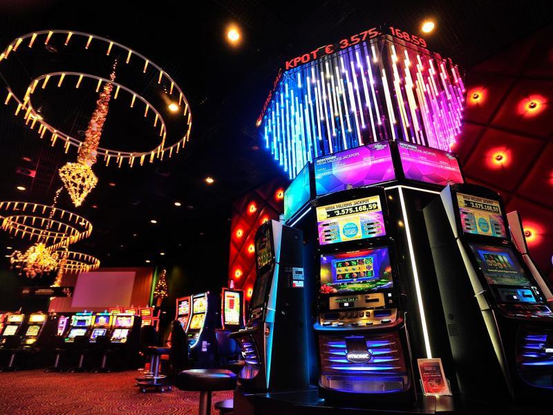 Holland Casino Mega Millions Signage