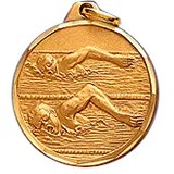 Swimming Award Medals