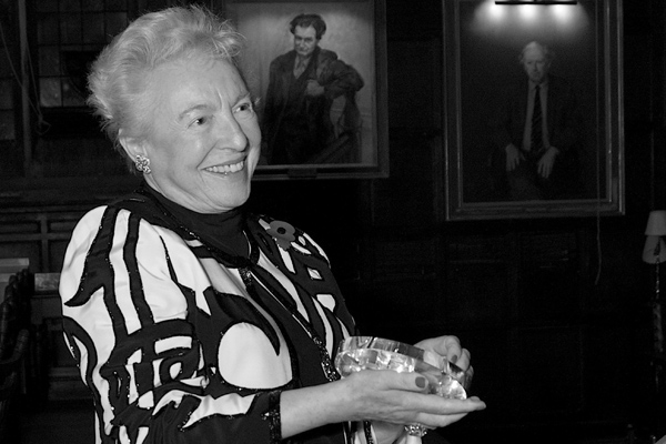 "Dame Stephanie ""Steve"" Shirley, recipient of an OII Lifetime Achievement Award."